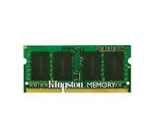 KINGSTON pc10600 4GB DDR3 SODIMM 204pins 1333 MHz 1 STICK non 2G x2
