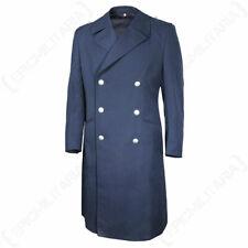 Original Bundeswehr Luftwaffe Blue Coat - Jacket Blue Mens German Issued Surplus