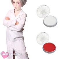 Childs Disfraz de dentista malvado Lab Coat facepaint Niños Escuela Libro Semana Fancy Dress