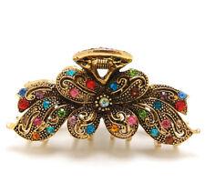 NEW Fancy Headdress Rhinestones Crystal Metal Butterfly hair Clip Claw Hairpin