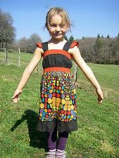Vetement Ethnique Enfant - Robe Coton Imprimé