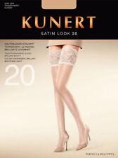 "Kunert ""Satin Look 20"" halterlose Strümpfe transparent glänzend"