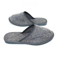Ladies Premium Slip On Warm Slippers Size 3 to 8 UK - WARM FELT LINED MULES