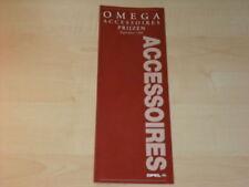 15624) Opel Omega Zubehör Preise Holland Prospekt 1995