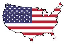 "Auto Aufkleber ""USA"" Amerika Car Sticker worldwide shipping!"