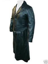 UNICORN LONDON Mens Film Movie Style Blade Full Length Leather Coat #B1
