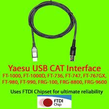 Yaesu USB CAT Cable FT-1000, FT-980, FT-990 +++