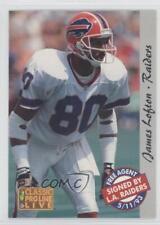 1993 Classic Pro Line Live #126 James Lofton Buffalo Bills Football Card