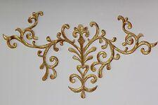 Extra Large Embroidery Iron/Sew on patch  motif dress Irish dance costume #13