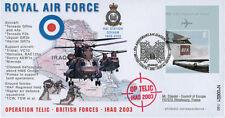 "IK03-RAF1 FDC UK ""Opération TELIC Royal Air Force IRAQ"""