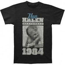 Oficial Van Halen-vintage Baby-Camiseta Negra Para Hombre Importado De Estados Unidos
