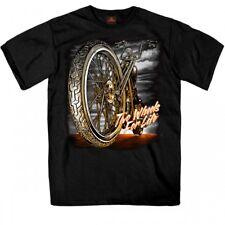 Big Wheel - Biker T-Shirt from the USA - Chest Print