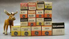 6Lc8, 6Le8, 6Lm8, 6Lq8, 6Mu8, 6Md8, 6Mj8, 6Mn8 & more Vacuum Tubes Lot of 17