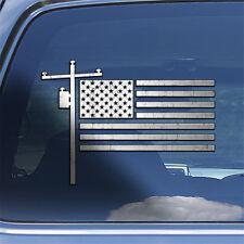 USA Lineman Flag Decal Sticker lineworker window decal American linemans sticker