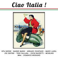 CD Ciao Italia : Rita Pavone, Marino Marini, Adriano Celentano, Mario Lanza.....