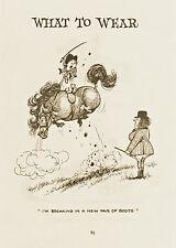 Thelwell's Riding Academy Horse Pony Original Vintage Art Cartoon Print 1965