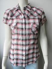 ★Guess★ Bluse Top Shirt Neu Kariert M