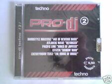 CD PRO-DJ 2 TECHNO HARDSTYLE MASTERZ ATLANTIC WAVE
