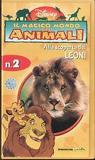 IL MAGICO MONDO DEGLI ANIMALI - ALLA SCOPERTA DEI LEONI (1998) VHS