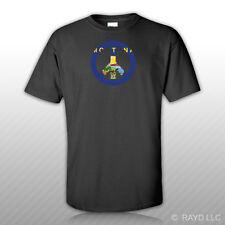Montana Flag Peace Symbol T-Shirt Tee Shirt Cotton Mt sign no war