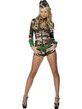 Costumi Carnevale Donna militare sexy soldatessa Smiffys 30819 *09885