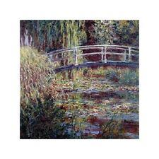 Quadro su Pannello in Legno MDF Claude Monet Le bassin aux nympheas, harmonie ro