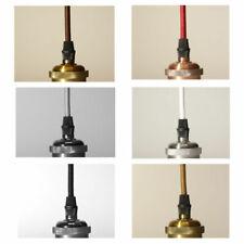 Textilkabel 3-adrig Lampenkabel Elektrokabel Stoffkabel Stromkabel Zugentlastung