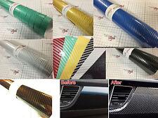 【AirFree】2D Gloss Carbon Fibre Vinyl 1m(39.4in)x0.75m(29.5in) Wrap Film Sticker