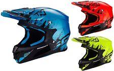 SCORPION VX 21 Air mudirt Casco de motocross OFFRAOD MX con sistema de bomba