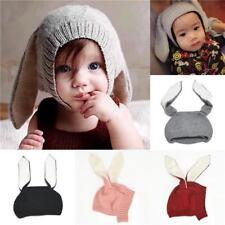 Cute Rabbit Ears Kids Baby Boy Girl Warm Beanie Infant Toddler Knit Hat Cap New