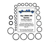 Dye 2010 DM Series Paintball Marker O-ring Oring Kit x 4 rebuilds / kits