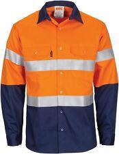 DNC Patron Saint Flame Retardant Cotton Arc Rated L/S Shirt 3m Reflective Tape