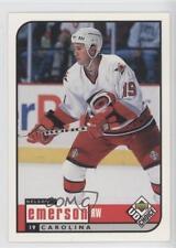 1998-99 Upper Deck UD Choice #43 Nelson Emerson Carolina Hurricanes Hockey Card