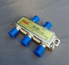 (1-50 PCS) ASKA SSP-4DS 4-Way 900-2050Mhz All Port Pass TV/Antenna Splitter