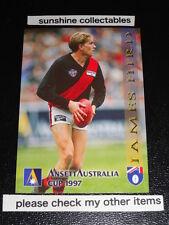 1997 SELECT ANSETT AUSTRALIA CUP CARD NO.5 JAMES HIRD ESSENDON