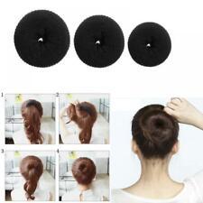 Styling Hairstyle Black Hair Bun Shaper Updo Doughnut