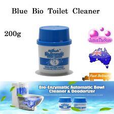 Automatic Toilet Bowl Cleaner Deodoriser Blue Bio Enzymatic Last 2-3 Months 200g