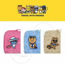 Kakao Friends Travel Card Wallet Money Bag Korea Pouch Coin Purse Cute Gift