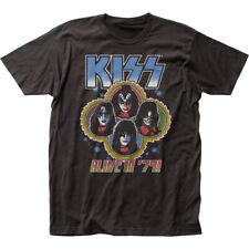 Authentic KISS Alive in 1979 Concert Tour Distress Vintage T-shirt S M L XL 2X