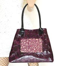 BORSA donna VERA PELLE cocco shopper bolsa bag сумка zak väska torebki veske B31