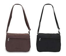 Damen Handtasche Schultertasche Microfaser Tasche Schultergurt verstellbar