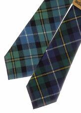 Tartan Tie Clan MacNeil OR Pocket Square Scottish Wool Plaid