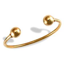 Jewelco London Señoras Oro Amarillo 9k esfuerzo de torsión pulsera