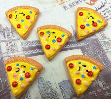 DIY 5/25/50/100PCS Pizza 25X24MM Flatback Resin Cabochon Scrapbooking/Crafts