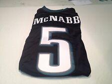 MEN'S DONOVAN MCNABB #5 RETRO PHILADELPHIA EAGLES BLACK ONFIELD AUTHENTIC Jersey