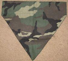 Camouflage Dog Bandana - 3 designs - 5 sizes XS - XL