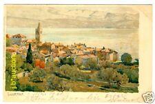 Kroatien LOVRANA * AK 1901 Litho v Raoul Frank * Signed