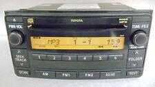 Toyota FJ Cruiser 4Runner Yaris AUX AM FM Radio Stereo MP3 CD Player OEM 11817