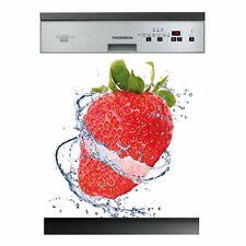 Autocollant Stickers lave vaisselle fraise Ref: LAV-281