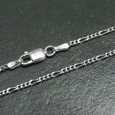 Figarokette Panzerkette Silberkette Echt 925 Sterlingsilber Kette Halskette Fein